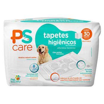 Tapete Higiênico 60x60 Pet Society PS Care (30 und)