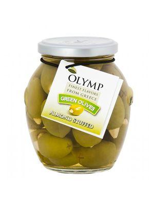 Azeitonas Olymp Verdes com Amendoas 200g