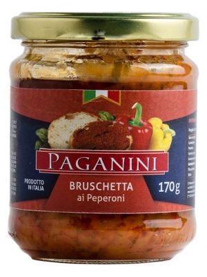 Bruschetta Paganini Peperoni 170g
