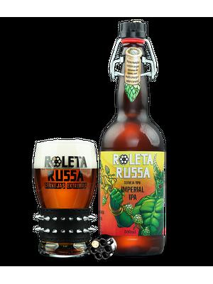 Cerveja Roleta Russa Imperial IPA 500ml