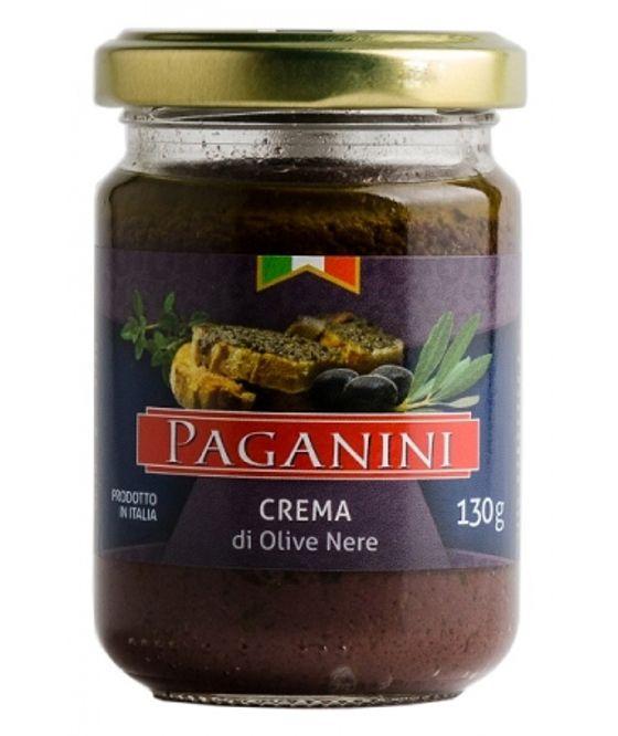 Creme Paganini de Azeitonas Pretas 130g