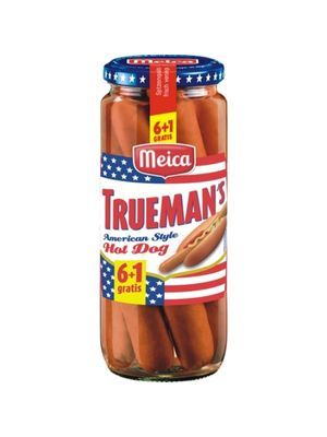 Salsichas Meica Truemans Hot Dog 350gr