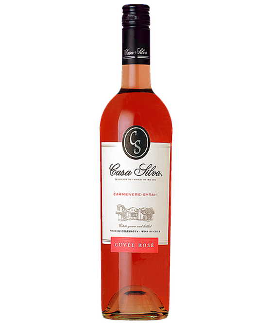 Vinho Casa Silva Reserva Cuvée Carménère-Syrah Rosé 750ml