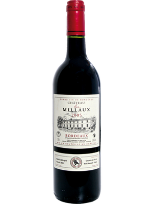 Vinho Château Les Millaux Bordeaux 750ml