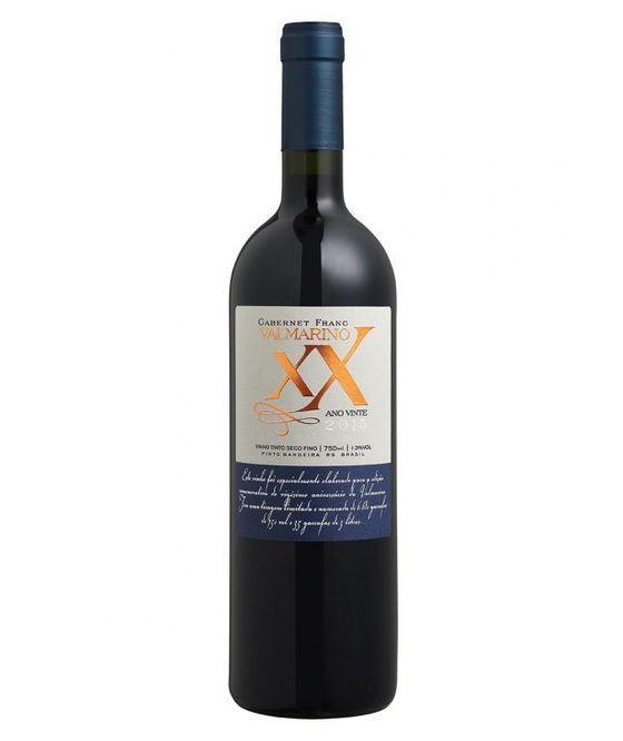 Vinho Valmarino Tinto Cabernet Franc XX 2015
