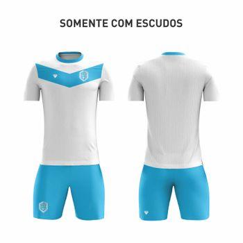 KIT - Camiseta + Calção Dryfit com detalhes costurados - MODELO COSTURADO