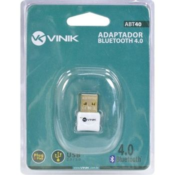 Adaptador Vinik Bluetooth 4.0 USB - ABT40