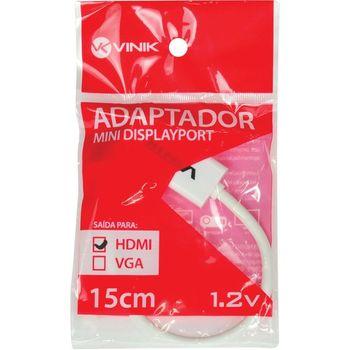 Cabo Adaptador Vinik Mini Display Port p/ HDMI 15cm - 23534