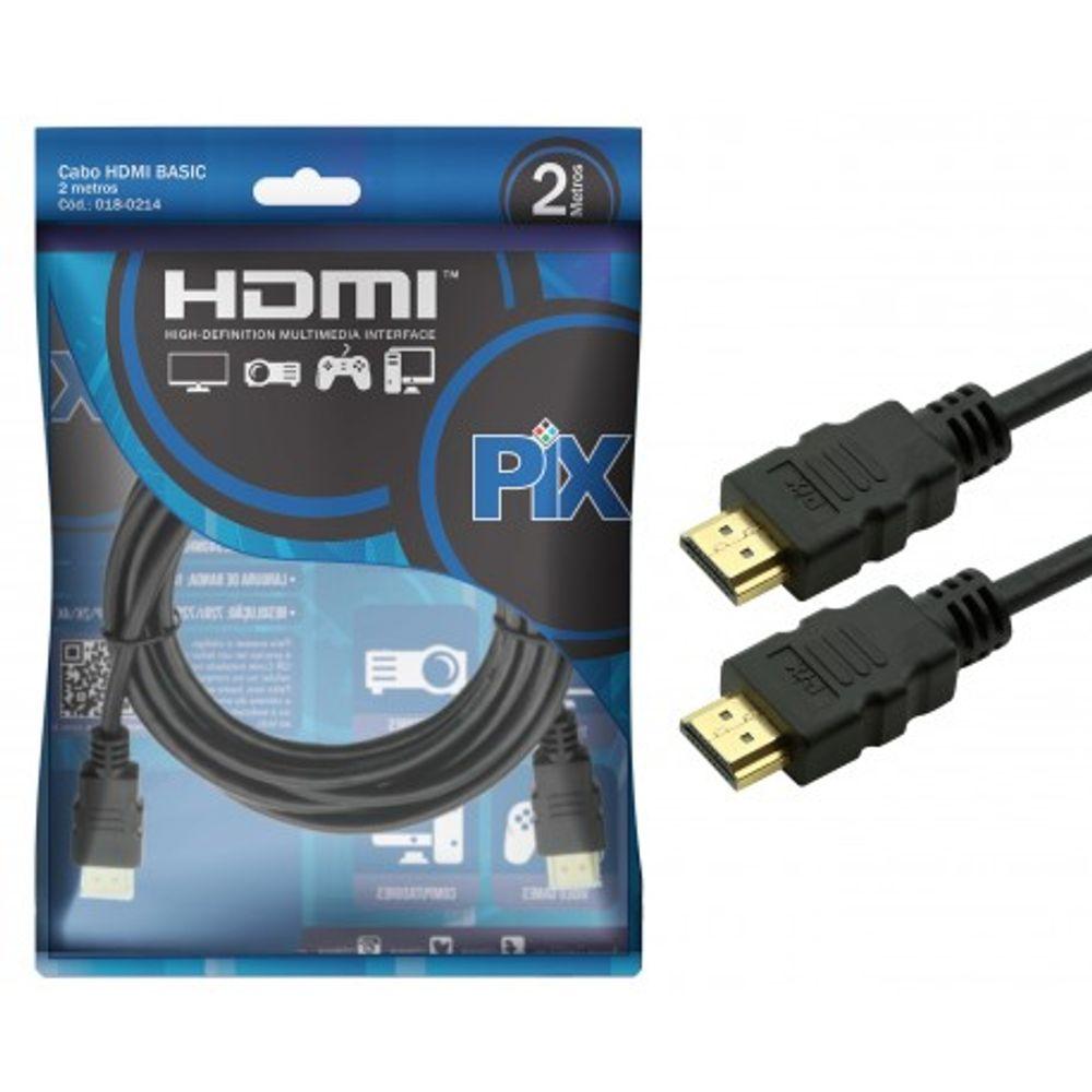 Cabo HDMI Pix 2m - 018-0214