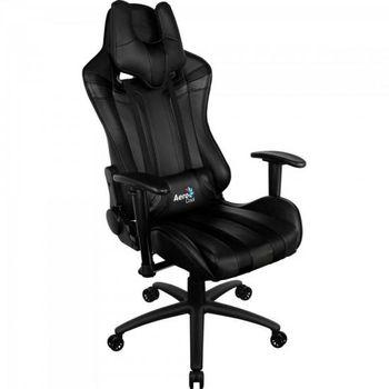 Cadeira AeroCool Gamer AC120C Profissional Preta - EN59633