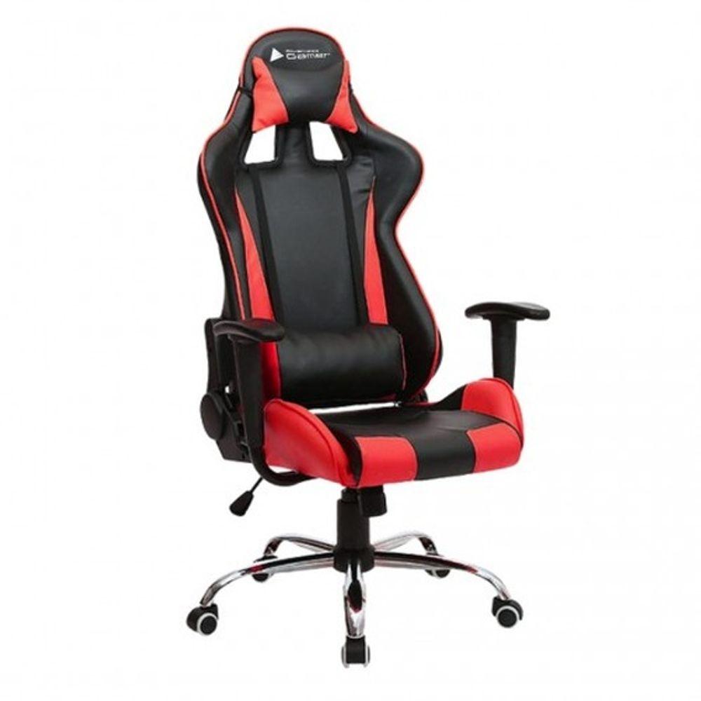 Cadeira BlueCase Gamer Titanium Black/Red - BCH-07RBK