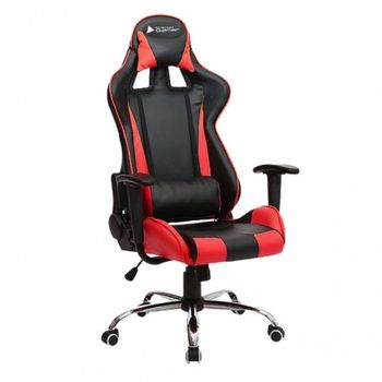 Cadeira BlueCase Gamer Titanium Black/Red - BCH-07RBK