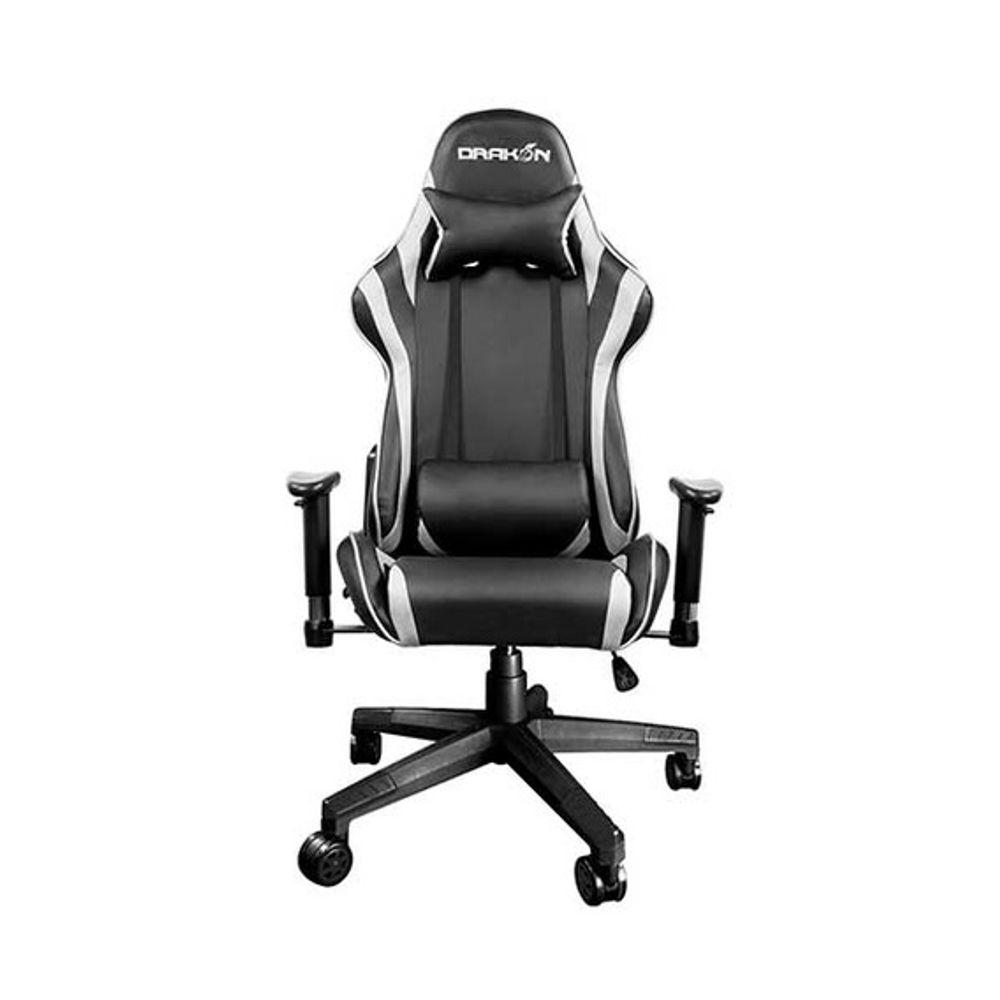 Cadeira Raidmax Gaming Drakon Black/White - DK-706WT