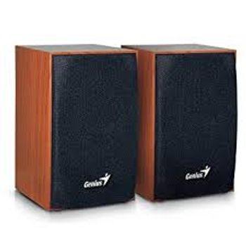 Caixa de Som Genius Wooden SP-HF160 Brown - 31731063101