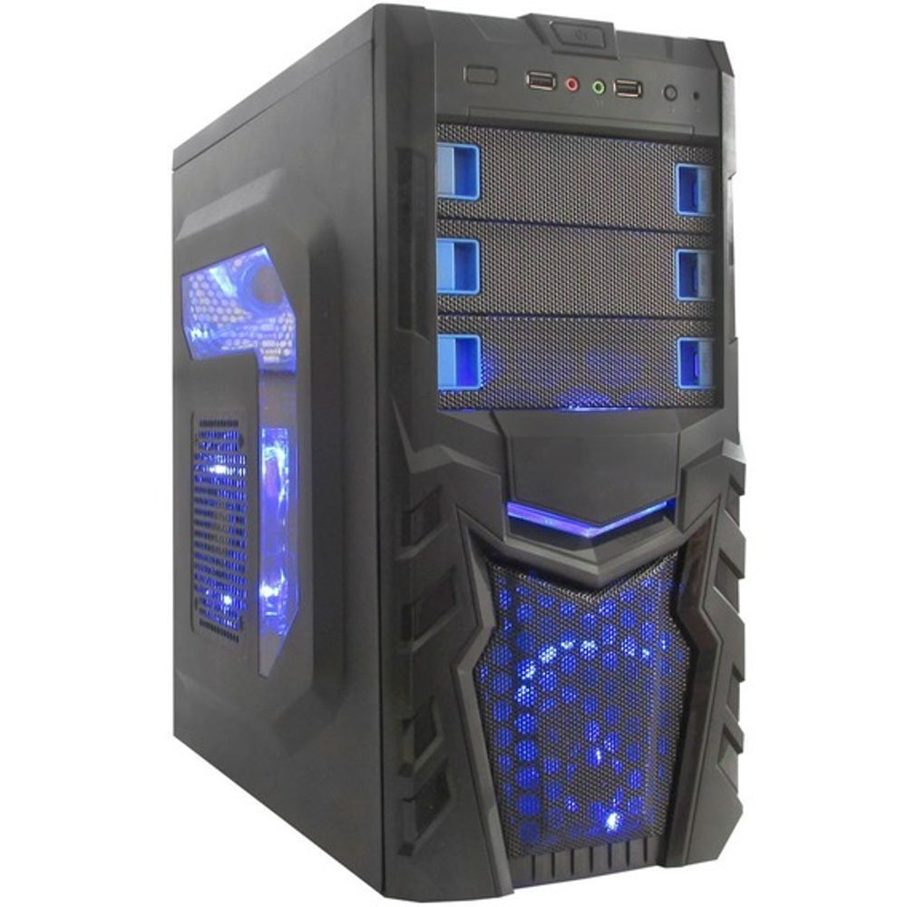 Computador FGTEC Home & Office • M4A4 • (Intel G4560, RX550 4GB, 8GB DDR4, 1TB HD)