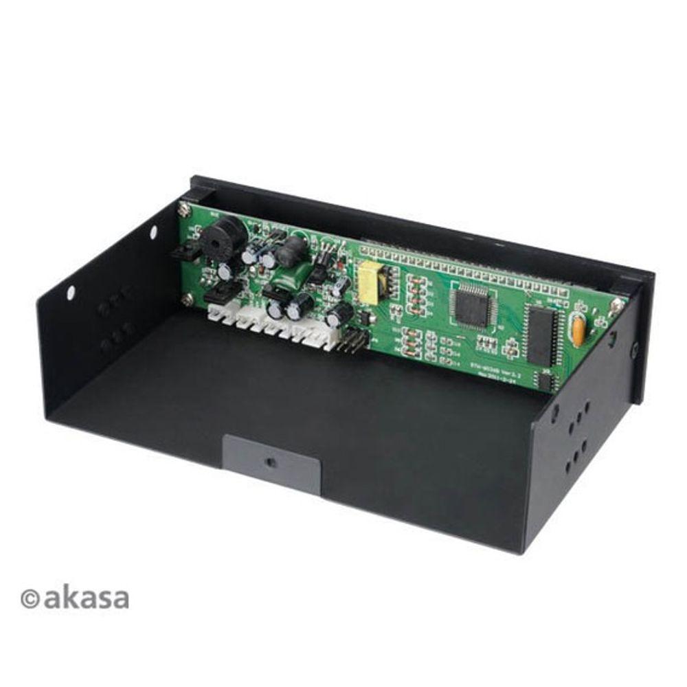 Controlador de Fan Akasa FC.Trio - AK-FC-07BK