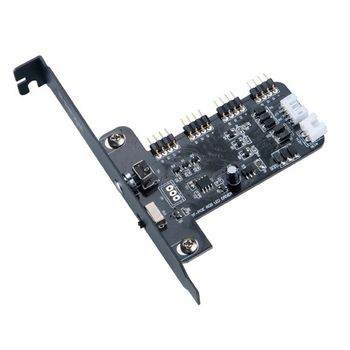 Controlador de Fan Akasa Vegas RGB LED - AK-RLD-02