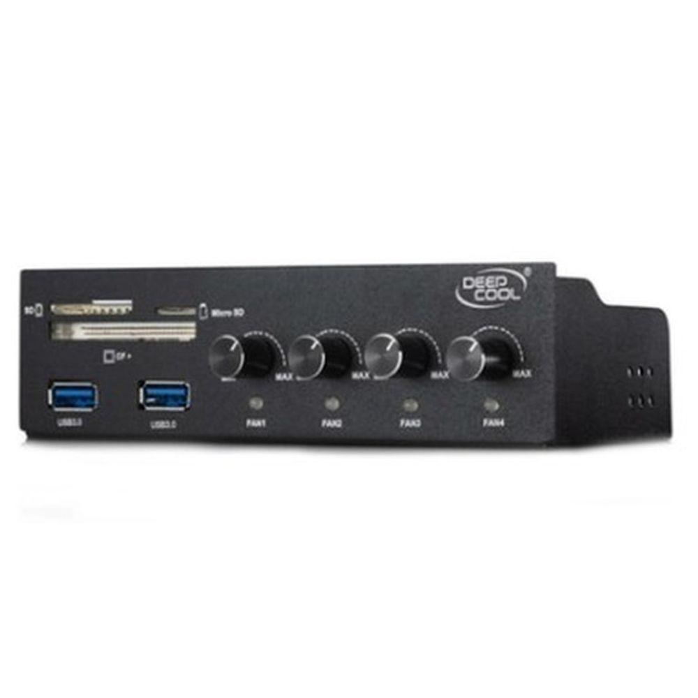 Controlador de Fan Deepcool Rock Master v3.0 - CP-FC4F2USD-RMTV3