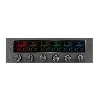 Controlador de Fan Thermaltake Commander F6 RGB LCD - AC-024-BN1NAN-A1