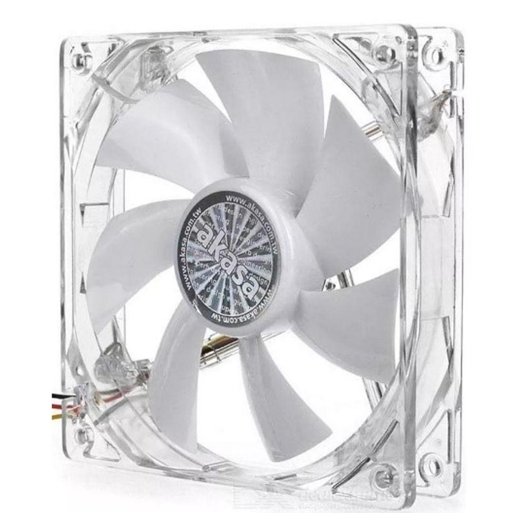 Fan Akasa 120mm White LED - AK-FN055