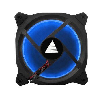 Fan BlueCase Gamer Ring 120mm Blue LED - BFR05BCASE