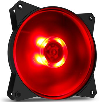 Fan Cooler Master MasterFan MF120L 120mm Red LED - R4-C1DS-12FR-R1