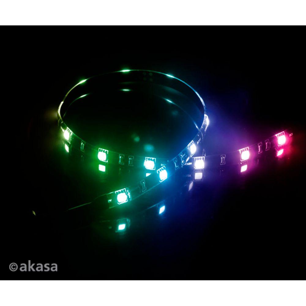 Fita de Led Akasa Vegas MB Multi Color LED 50cm - AK-LD05-50RB