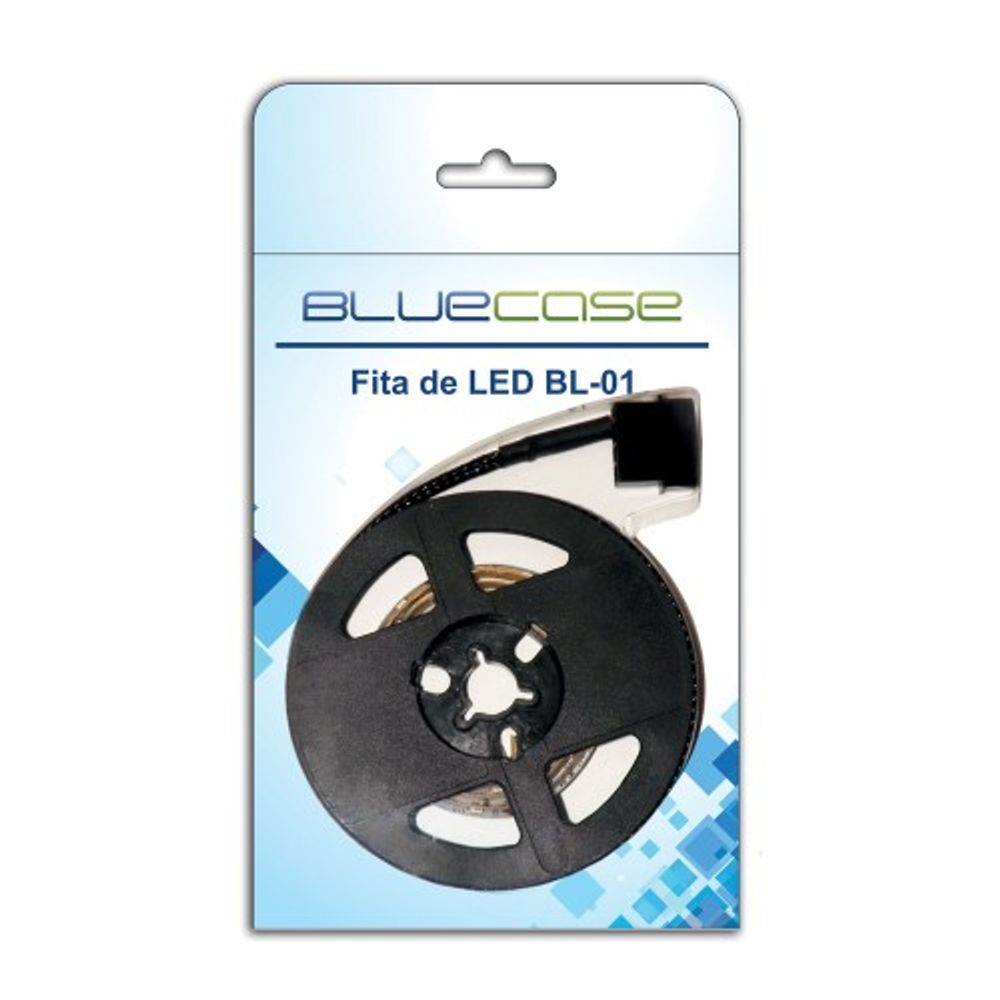Fita de Led Bluecase Blue LED 80cm - BL01BCASE
