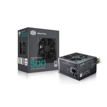 Fonte Cooler Master MasterWatt Lite 500W 80 Plus White - MPX-5001-ACAAW