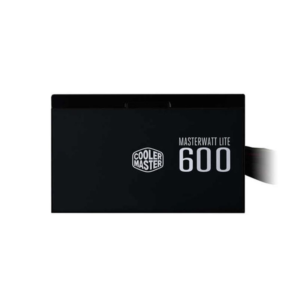 Fonte Cooler Master MasterWatt Lite 600W 80 Plus White - MPX-6001-ACAAW
