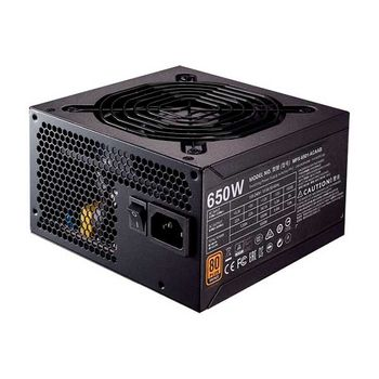 Fonte Cooler Master MasterWatt MWE 650W 80 Plus Bronze - MPX-6501-ACAAB-WO