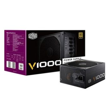 Fonte Cooler Master V Series 1000W Fully Modular 80 Plus Gold - RS-A00-AFBA-G1