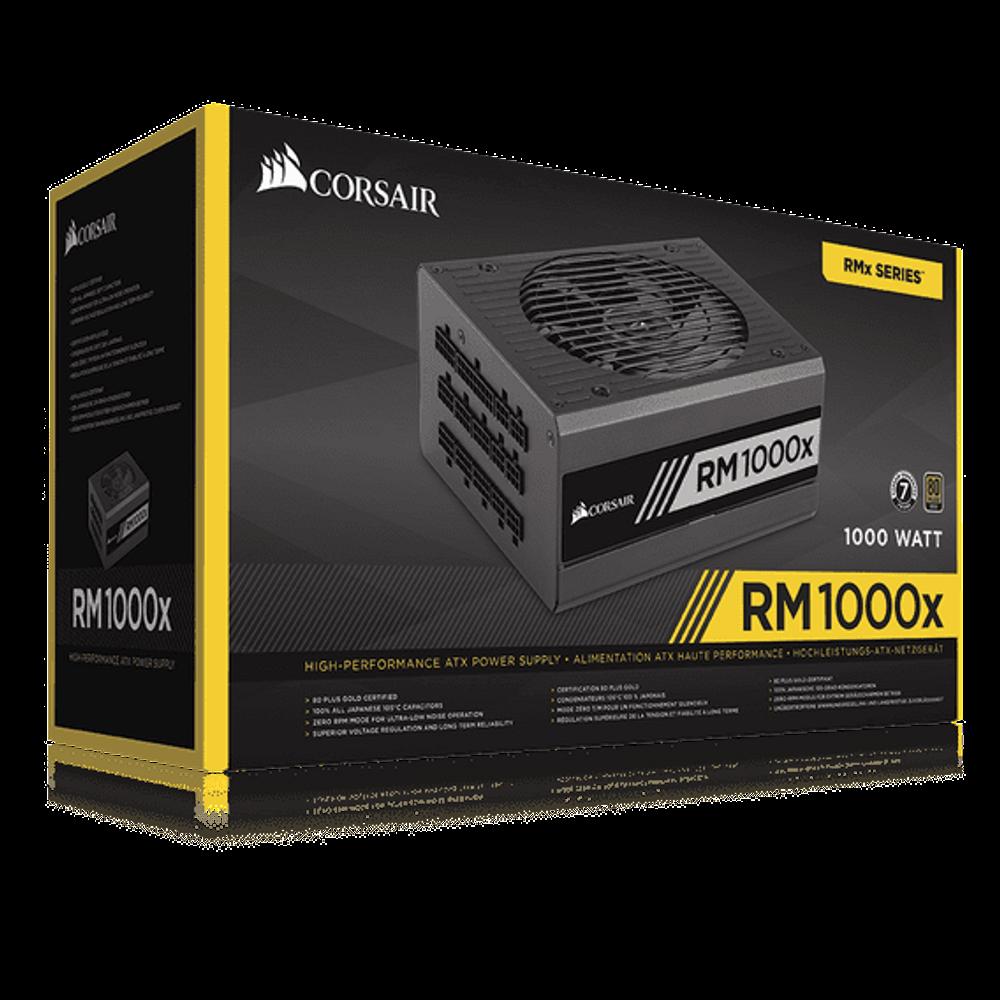 Fonte Corsair RMx Series 1000W Fully Modular 80 Plus Gold - CP-9020094-WW