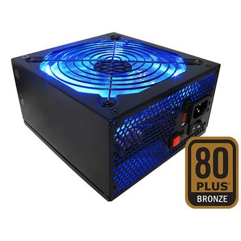 Fonte Raidmax Hybrid Series 630W Modular Blue LED - RX-630SS