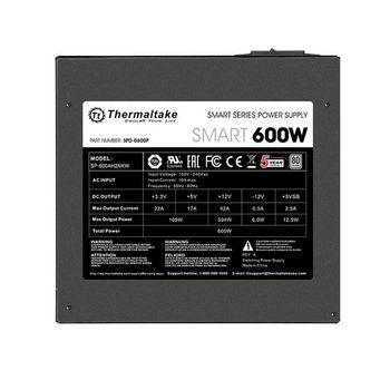 Fonte Thermaltake Smart Series 600W 80 Plus White - SPD-0600P