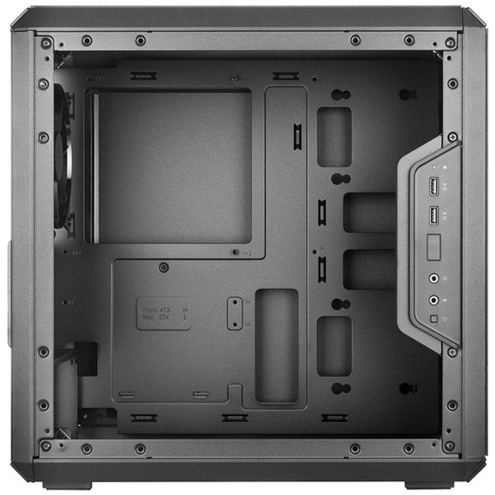 Gabinete Cooler Master Gamer MasterBox Q300L Window Black - MCB-Q300L-KANN-S00