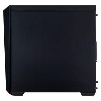 Gabinete Cooler Master Gamer MasterBox Lite 5 Window Black - MCW-L5S3-KANN-01
