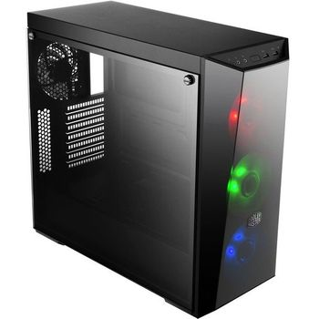 Gabinete Cooler Master Gamer MasterBox Lite 5 Window Black RGB LED - MCW-L5S3-KGNN-02