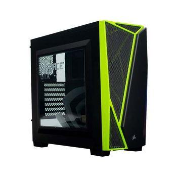 Gabinete Corsair Carbide Serie Spec-04 Nvidia Edition Window Green LED - CC-9011119-NV1