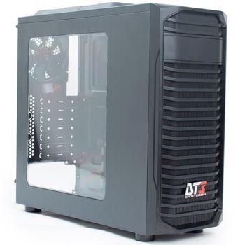 Gabinete DT3 Sports Gamer Rover Window Black - 10598-3