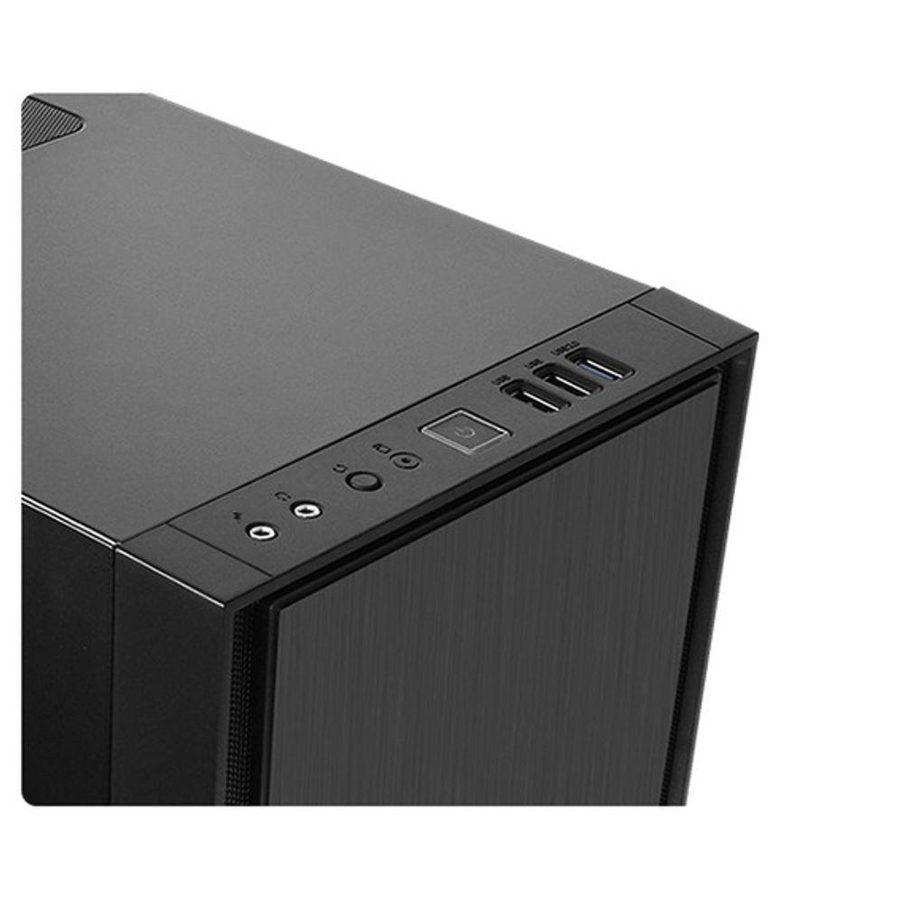 Gabinete Thermaltake Versa H17 Black - CA-1J1-00S1NN-00