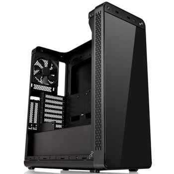 Gabinete Thermaltake View 27 Gull-Wing Window Black Red LED - CA-1G7-00M1WN-RE
