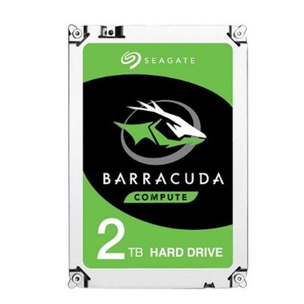 HD Notebook Seagate BarraCuda 2TB 128MB Cache 5400RPM Sata 3 - ST2000LM015