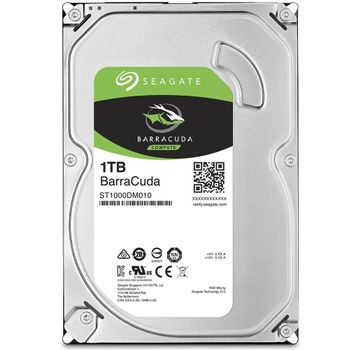 HD Seagate BarraCuda 1TB 64MB Cache 7200RPM Sata 3 - ST1000DM010