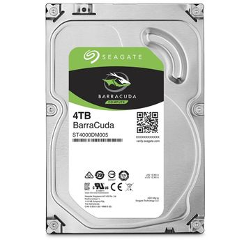 HD Seagate BarraCuda 4TB 64MB Cache 5900RPM Sata 3 - ST4000DM005