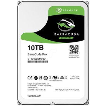 HD Seagate BarraCuda Pro 10TB 256MB Cache 7200RPM Sata 3 - ST10000DM0004