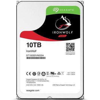 HD Seagate IronWolf NAS 10TB 256MB Cache 7200RPM Sata 3 - ST10000VN0004