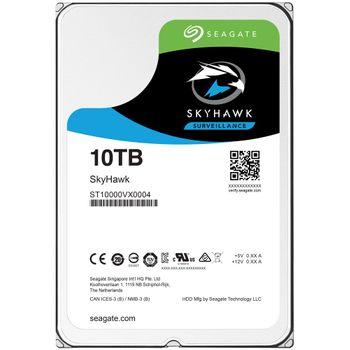 HD Seagate SkyHawk Surveillance 10TB 256MB Cache 7200RPM Sata 3 - ST10000VX0004