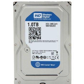 HD Western Digital WD Blue 1TB 64MB Cache 7200RPM Sata 3 - WD10EZEX