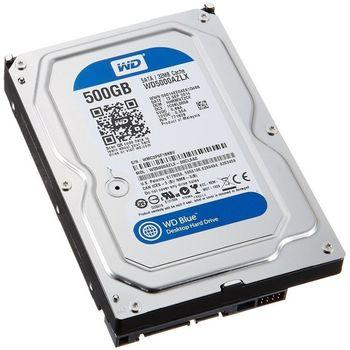 HD Western Digital WD Blue 500GB 32MB Cache 7200RPM Sata 3 - WD5000AZLX